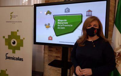 Diputación presenta un mapa donde se recogen todos los recursos e infraestructuras para los jóvenes jiennenses