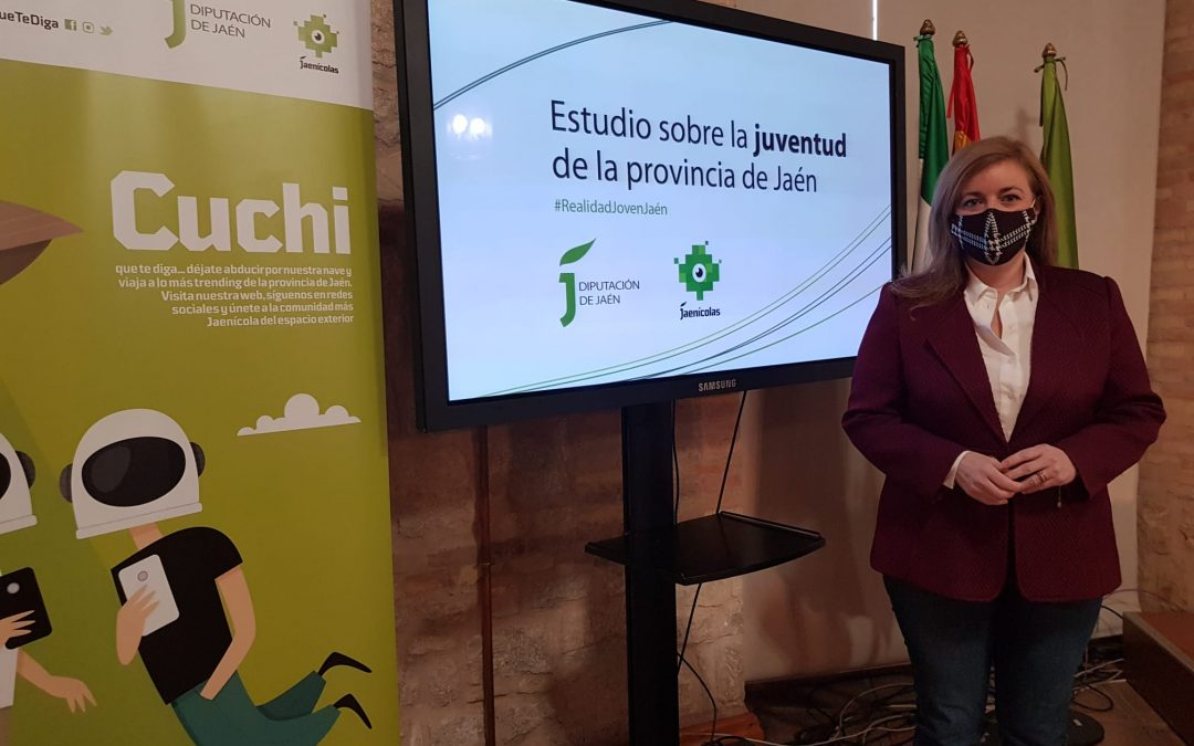 Pilar Lara, Diputada de Juventud en la presentación del estudio Estudio #RealidadJovenJaén