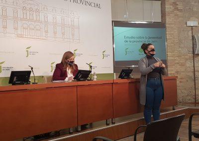El Aula de Cultura de la Diputación Provincial acogió la presentación de #RealidadJovenJaén