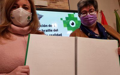 Diputación y ONCE editan en braille el estudio sobre la realidad de la juventud en la provincia