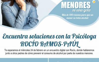 Encuentra soluciones con la psicóloga Rocío Ramos-Paúl