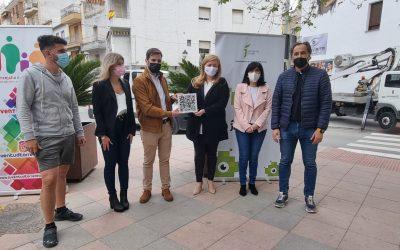 El proyecto joven 'Street Art Plus' comienza en Torredelcampo con un grafitti de Alejandro Domínguez