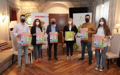 La diputada de juventud asiste a la presentación de las jornadas 'Mengíbar saludable'