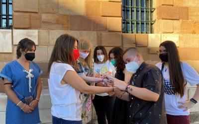 La diputada de Juventud ha participado en La Carolina en la presentación de actividades de apoyo al colectivo LGTBI en las que colabora la Diputación