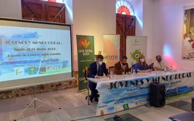"""Pilar Lara inaugura en Puente de Génave la jornada """"Jóvenes y mundo rural"""""""