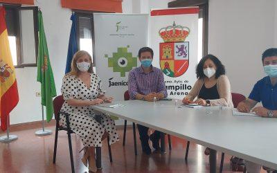 Pilar Lara se reúne con el alcalde de Campillo de Arenas para abordar distintos proyectos
