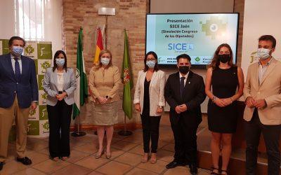 Un centenar de jóvenes participarán en Jaén en un evento de simulación política en el que colabora la Diputación